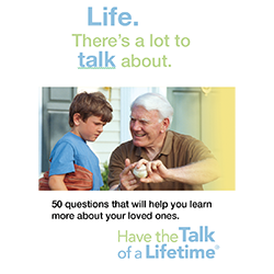 Have the Talk of a Lifetime Conversation Cards (Deck)