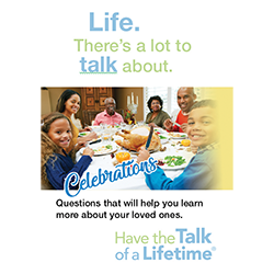 Have the Talk of a Lifetime cards - Celebrations