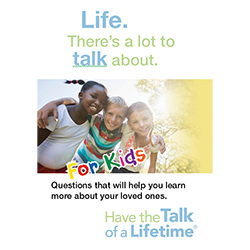 Have the Talk of a Lifetime cards- Kids